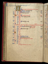 Commemoration of John Holbrook, In The Egerton Psalter